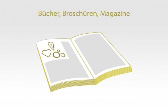 Bücher, Broschüren, Magazine
