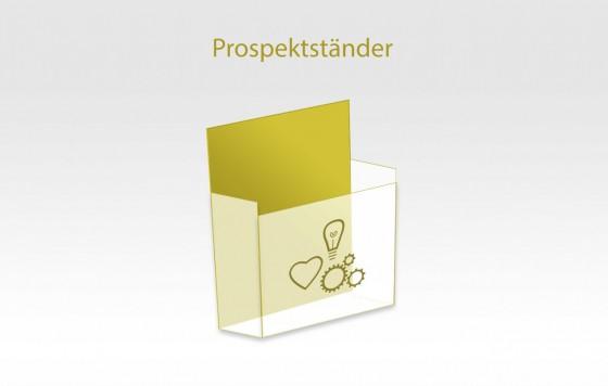 Prospektständer (Kunststoff)