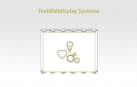 Textilfaltdisplay- Systeme